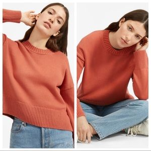 everlane / scoop neck knit pullover sweater